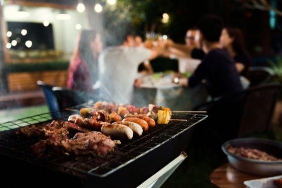 Have BBQ Dinner in Canggu Bali Villas
